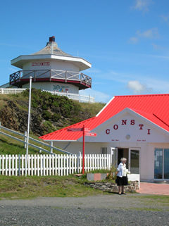 the Aberystwyth camera obscura on top of constitution hill